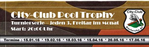 City Club Pool Trophy 2016