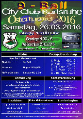 City Club Osterturnier 2016